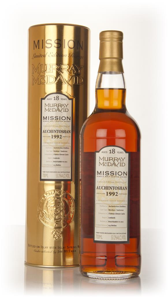 Auchentoshan 18 Year Old 1992 Mission (Murray McDavid) Single Malt Whisky