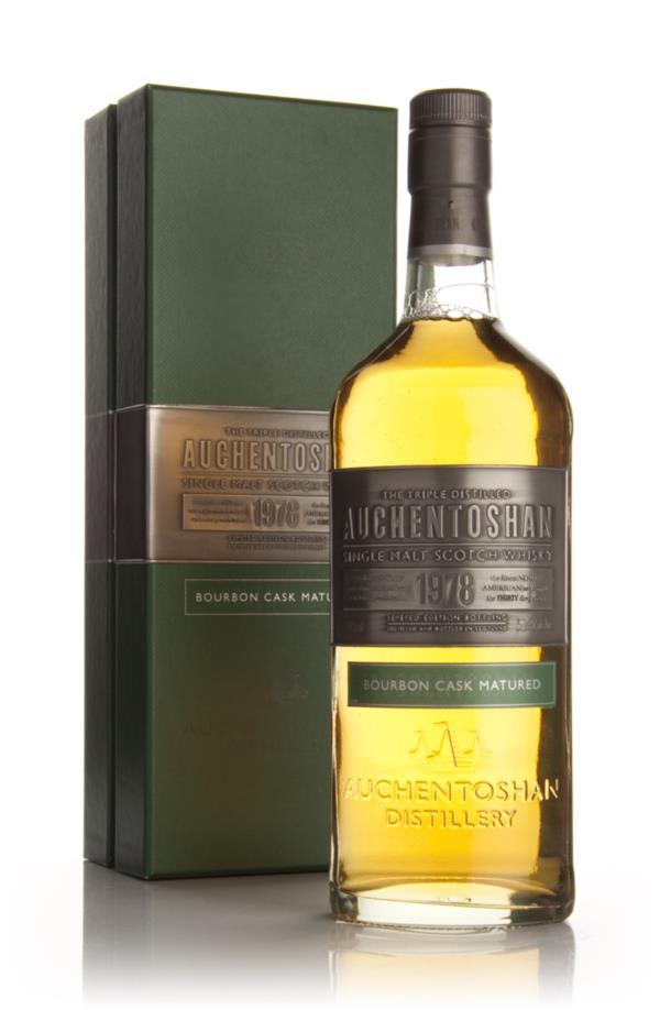Auchentoshan 30 Year Old 1978 Bourbon Cask Matured Single Malt Whisky