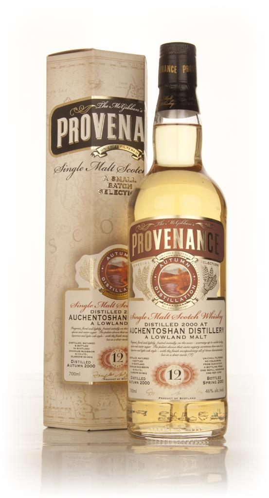 Auchentoshan 12 Year Old 2000 (cask 9755) - Provenance (Douglas Laing) Single Malt Whisky