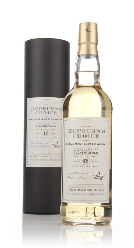 Auchentoshan 12 Year Old 2001 - Hepburn's Choice (Langside) Single Malt Whisky