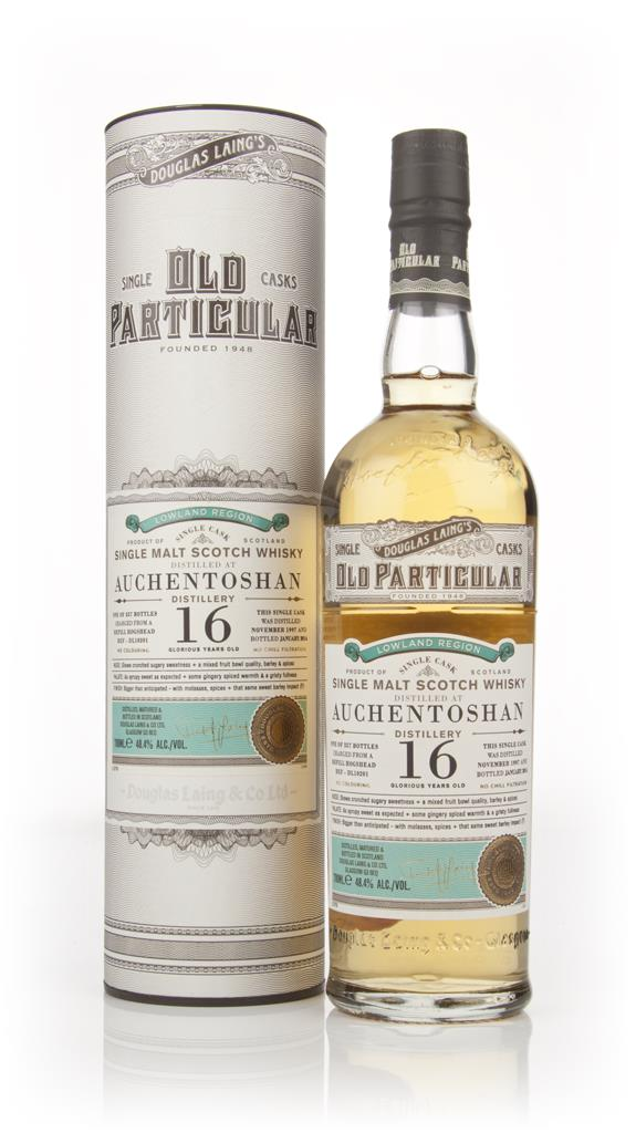 Auchentoshan 16 Year Old 1997 (cask 10201) - Old Particular (Douglas L Single Malt Whisky