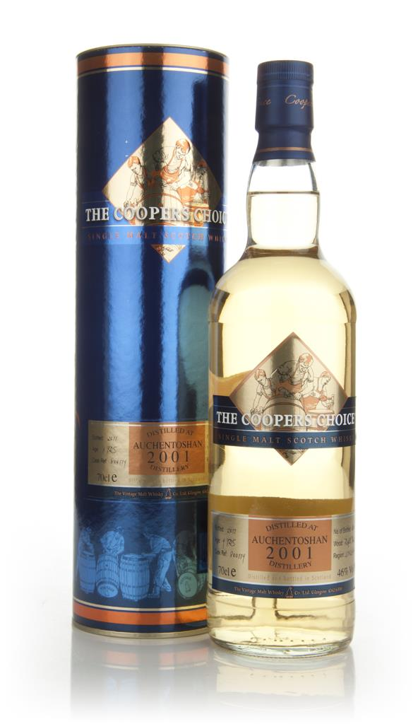 Auchentoshan 9 Years Old 2001 - The Coopers Choice Single Malt Whisky