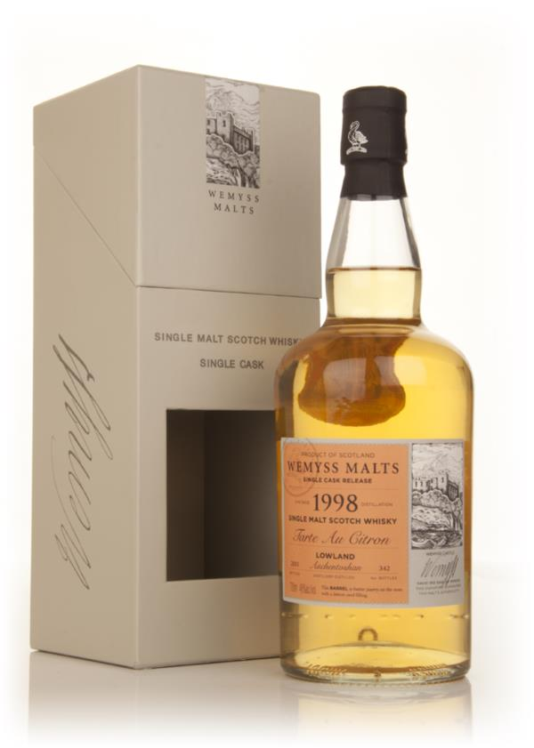 Tarte au Citron 1998 - Wemyss Malts (Auchentoshan) Single Malt Whisky