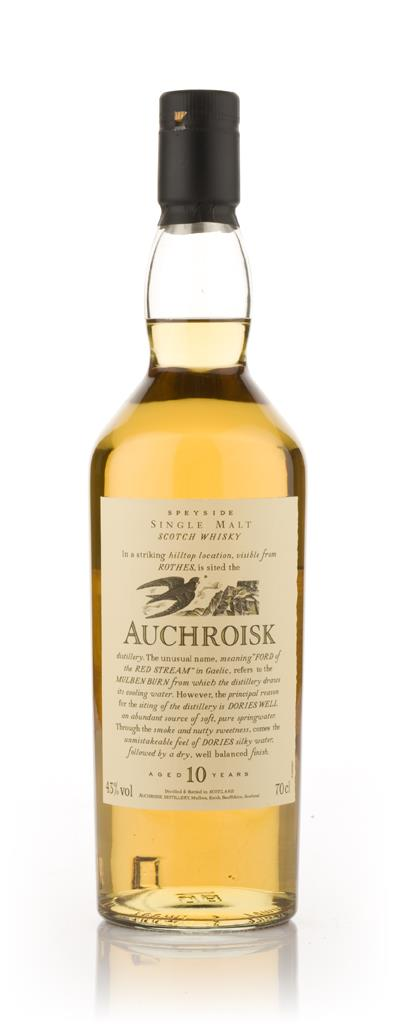 Auchroisk 10 Year Old - Flora and Fauna Single Malt Whisky