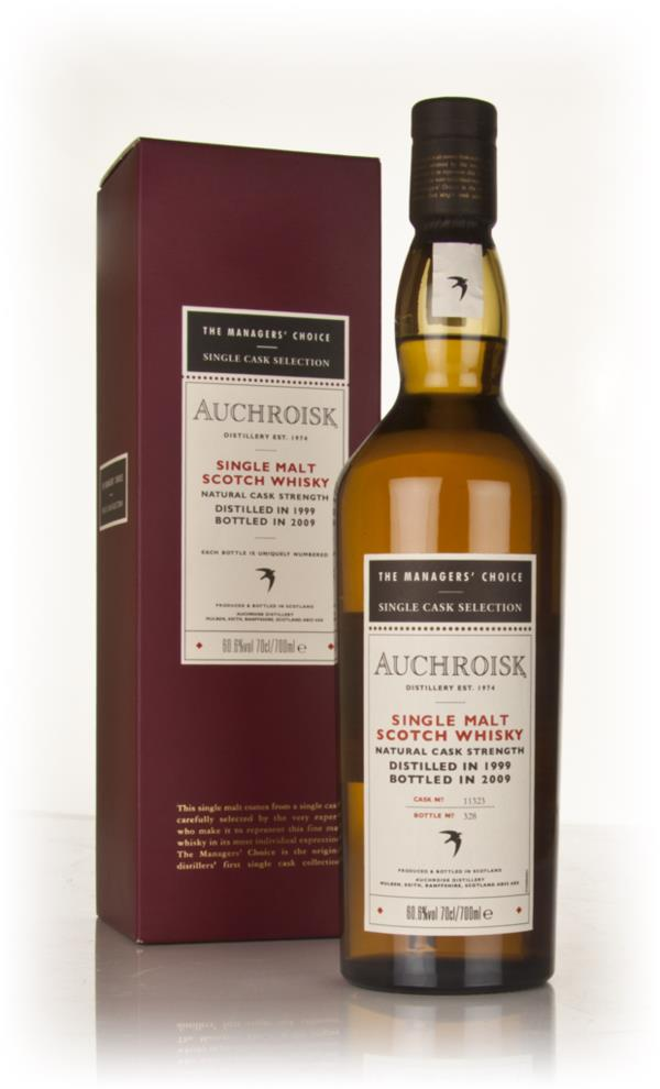 Auchroisk 1999 - Managers Choice Single Malt Whisky