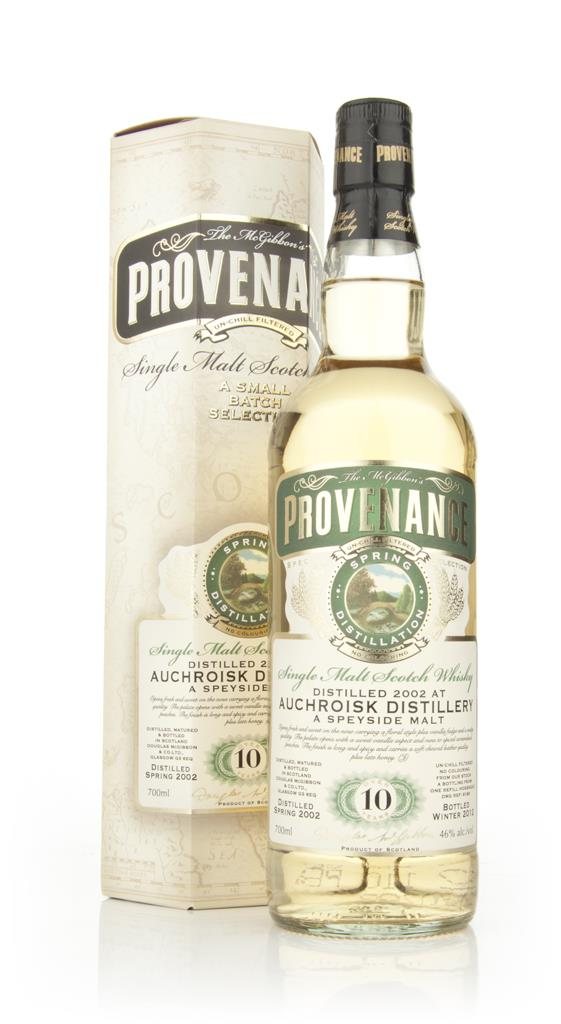 Auchroisk 10 Year Old 2002 - Provenance (Dougas Laing) Single Malt Whisky