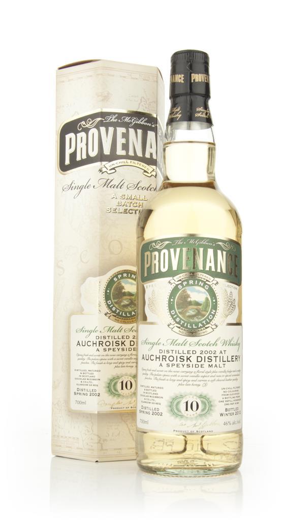 Auchroisk 10 Year Old 2002 - Provenance (Dougas Laing) Single Malt Whisky