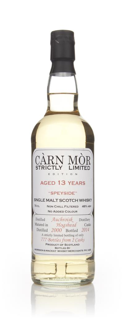 Auchroisk 13 Year Old 2000 - Strictly Limited (Carn Mor) Single Malt Whisky
