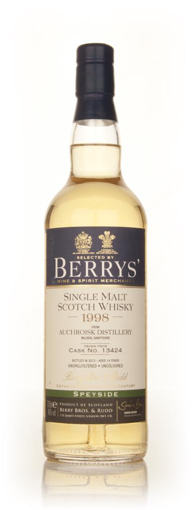 Auchroisk 14 Year Old 1998 (cask 13424) (Berry Bros. & Rudd) Single Malt Whisky