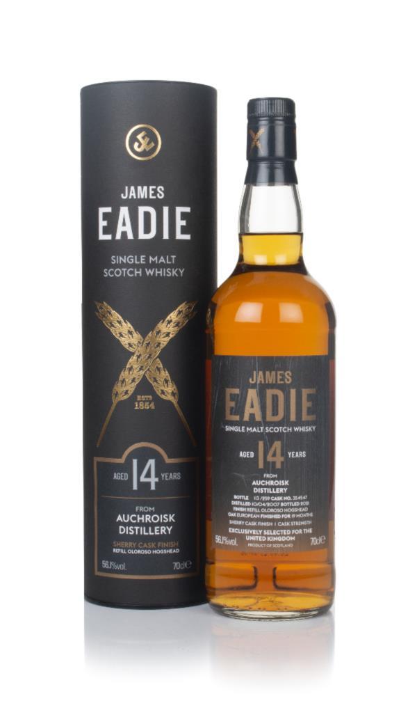 Auchroisk 14 Year Old 2007 (cask 354547) -  James Eadie Single Malt Whisky