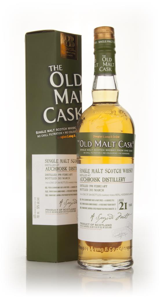 Auchroisk 21 Year Old 1990 - Old Malt Cask (Douglas Laing) Single Malt Whisky