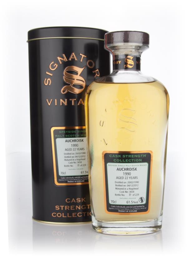 Auchroisk 22 Year Old 1990 Cask 3658 - Cask Strength Collection (Signa Single Malt Whisky