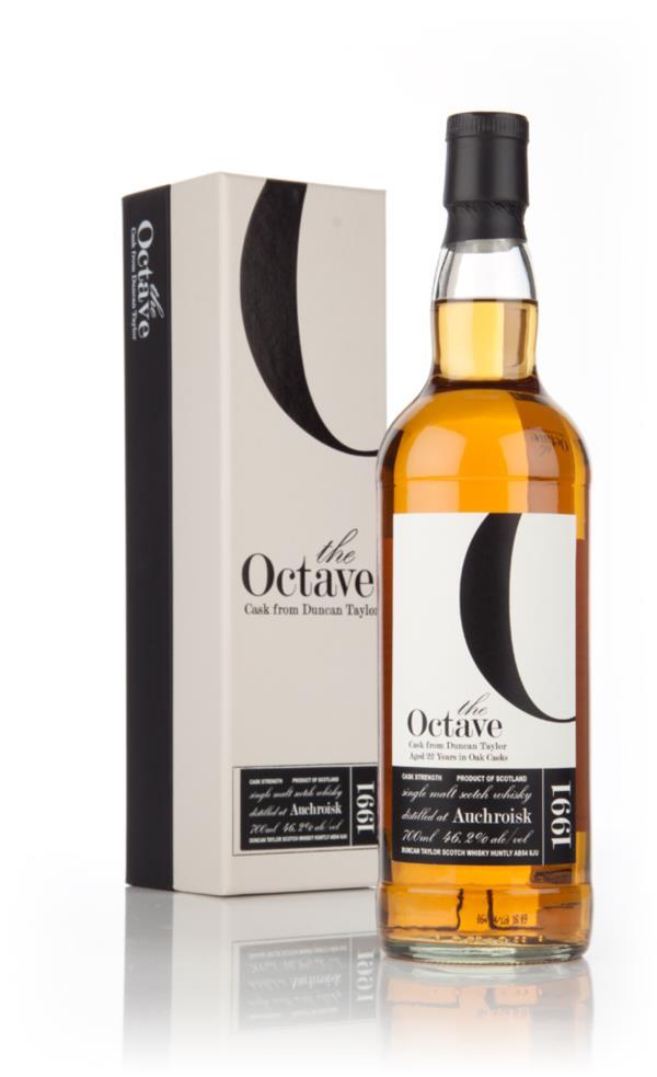 Auchroisk 22 Year Old 1991 (cask 777644) - The Octave (Duncan Taylor) Single Malt Whisky 3cl Sample