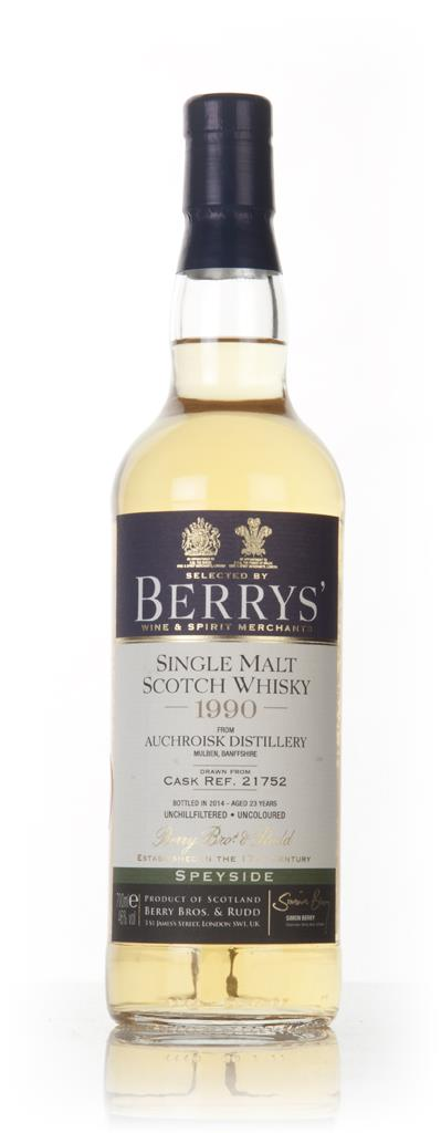 Auchroisk 23 Year Old 1990 (cask 21752) (Berry Bros. & Rudd) 3cl Sampl Single Malt Whisky 3cl Sample