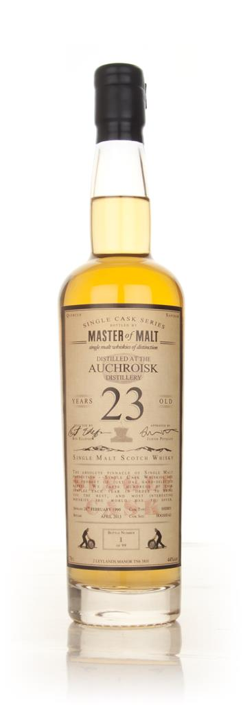 Auchroisk 23 Year Old 1990 - Single Cask (Master of Malt) Single Malt Whisky