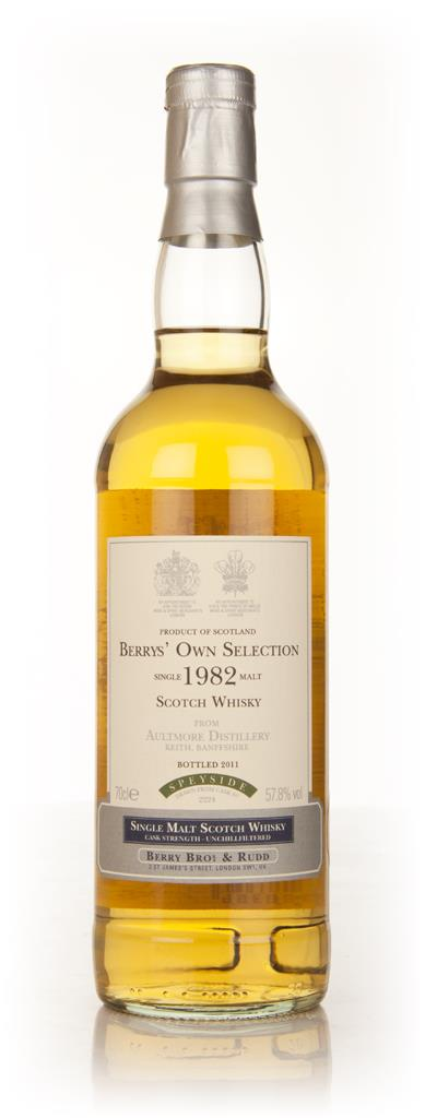 Aultmore 1982 (Berry Brothers and Rudd) Single Malt Whisky