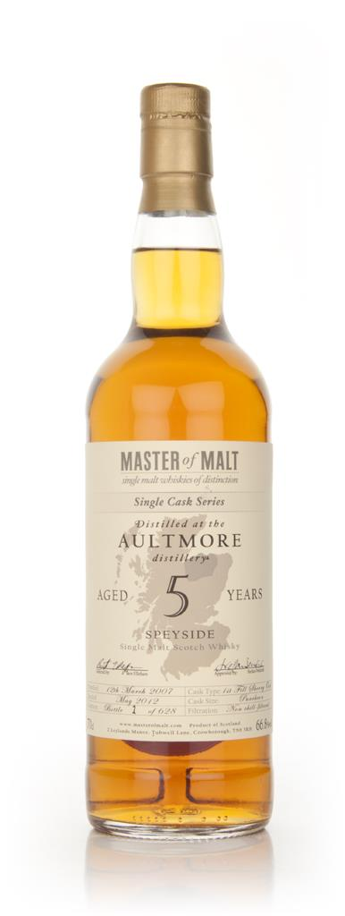 Aultmore 5 Year Old - Single Cask (Master of Malt) Single Malt Whisky