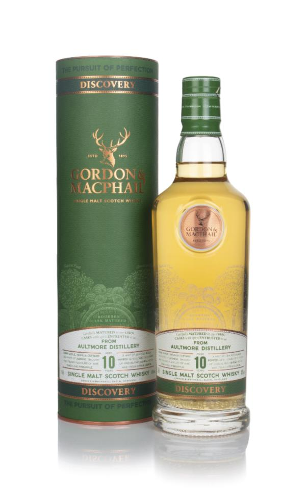 Aultmore 10 Year Old - Discovery (Gordon & Macphail) Single Malt Whisky