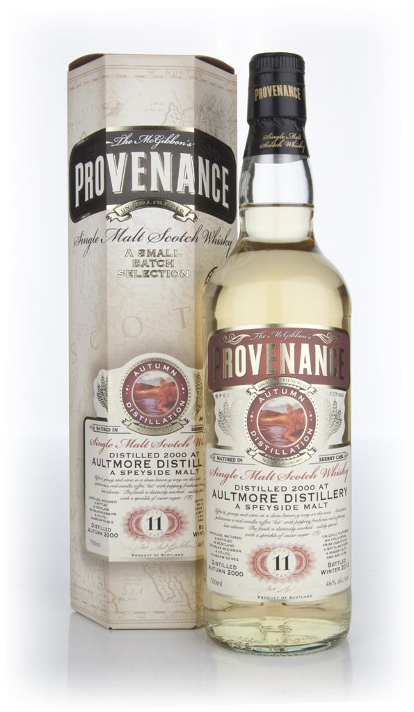 Aultmore 11 Year Old 2000 - Provenance (Douglas Laing) Single Malt Whisky