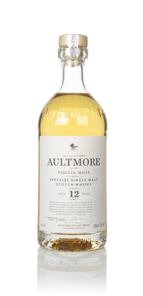Aultmore 12 Year Old Single Malt Whisky