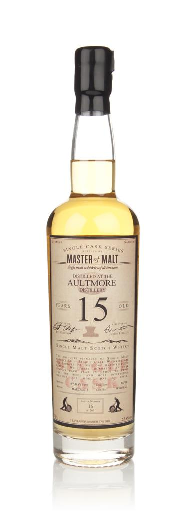 Aultmore 15 Year Old 1997 - Single Cask (Master of Malt) Single Malt Whisky