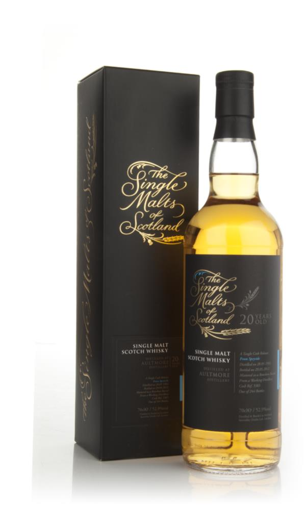 Aultmore 20 Year Old 1992 - Single Malts of Scotland (Speciality Drink Single Malt Whisky