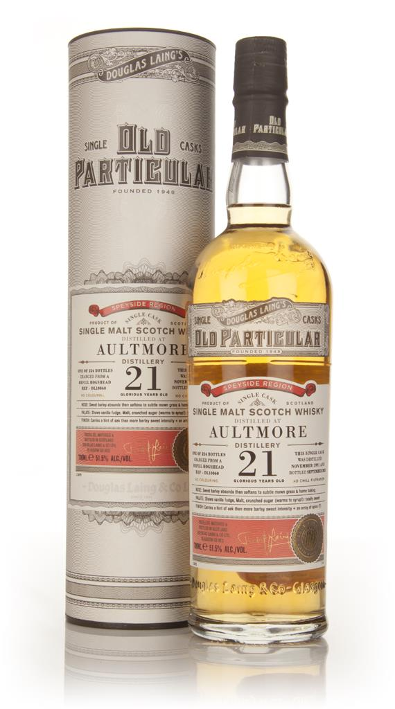 Aultmore  21 Year Old 1991 (cask 10060) - Old Particular (Douglas Lain Single Malt Whisky