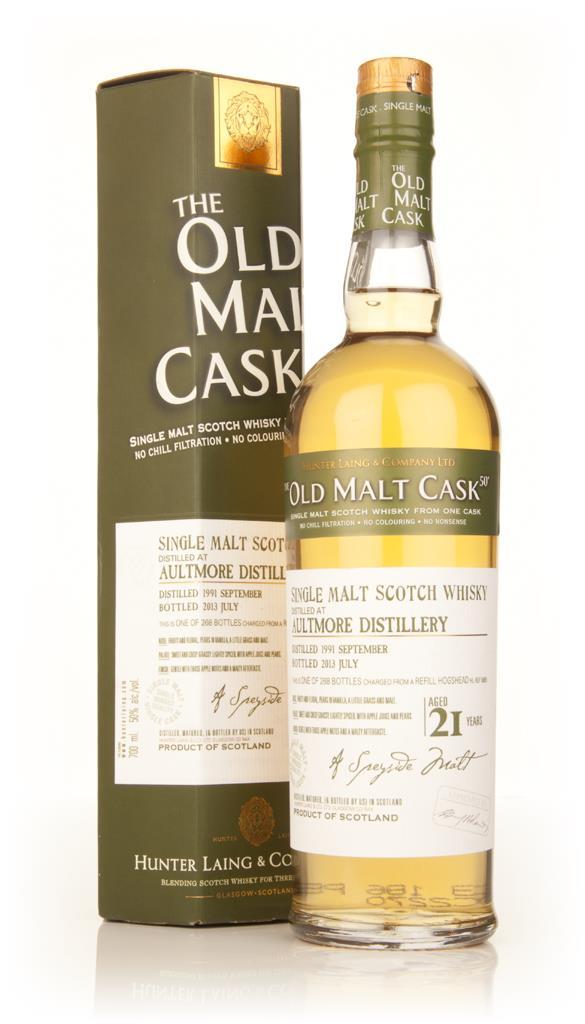 Aultmore 21 Year Old 1991 (cask 9869) - Old Malt Cask (Hunter Laing) Single Malt Whisky