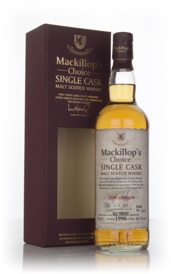 Aultmore 22 Year Old 1990 (cask 5199) (Mackillops) Single Malt Whisky