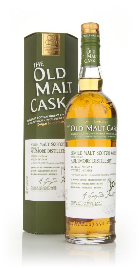 Aultmore 30 Year Old 1982 - Old Malt Cask (Douglas Laing) Single Malt Whisky