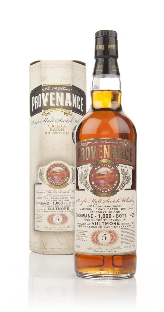 Aultmore 5 Year Old - Provenance (Douglas Laing) - Commemorative 1,000 Single Malt Whisky