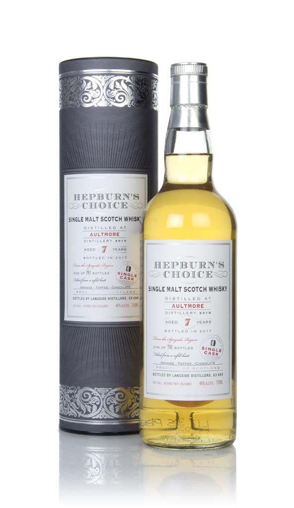 Aultmore 7 Year Old 2010 - Hepburn's Choice (Langside) Single Malt Whisky