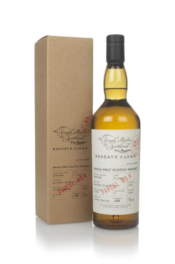 Aultmore 9 Years Old 2011 (Parcel No.4) - Reserve Casks (The Single Ma Single Malt Whisky