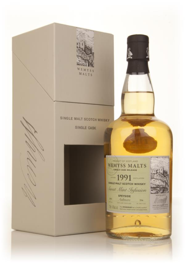 Sweet Mint Infusion 1991 - Wemyss Malts (Aultmore) Single Malt Whisky