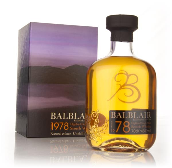 Balblair 1978 Single Malt Whisky