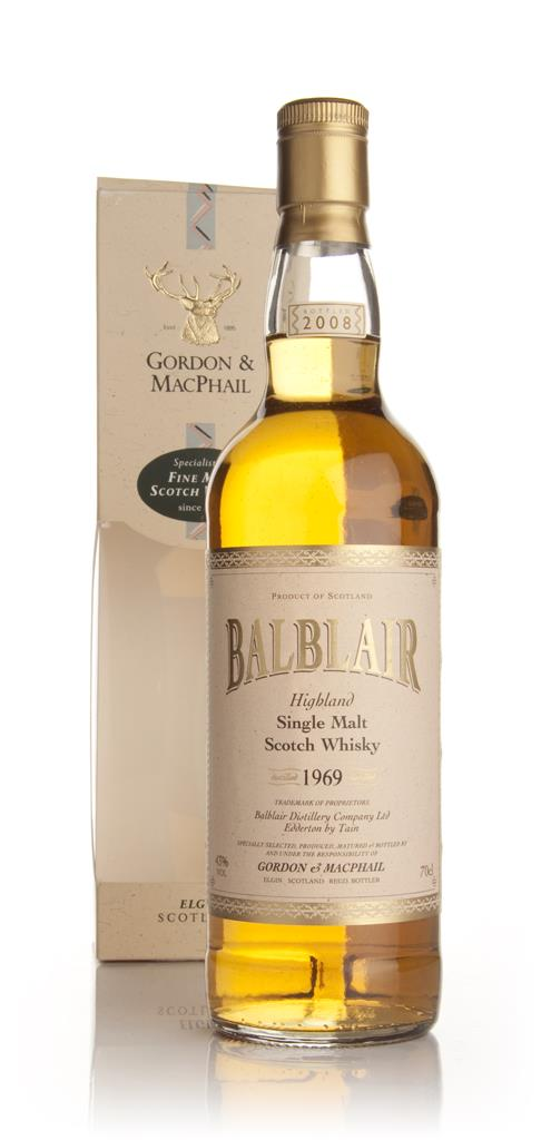 Balblair 1969 (Gordon and MacPhail) Single Malt Whisky