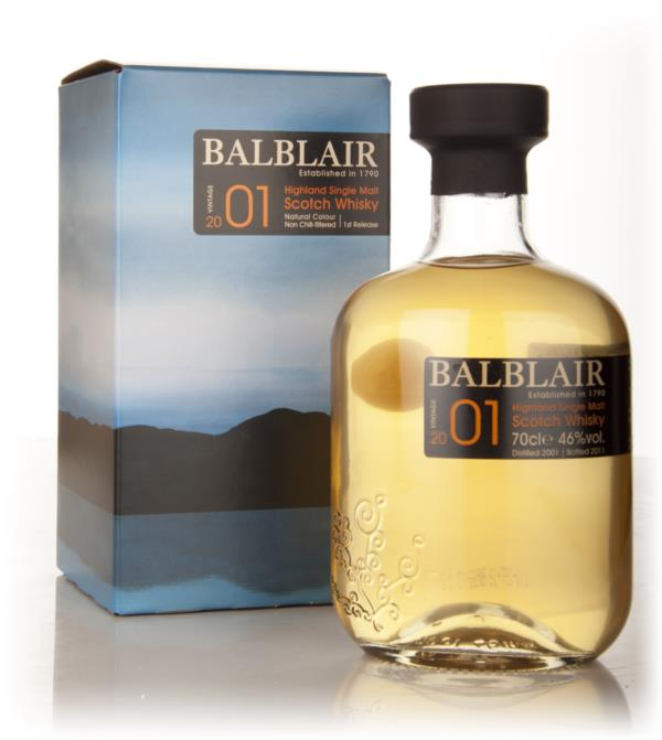 Balblair 2001 Single Malt Whisky