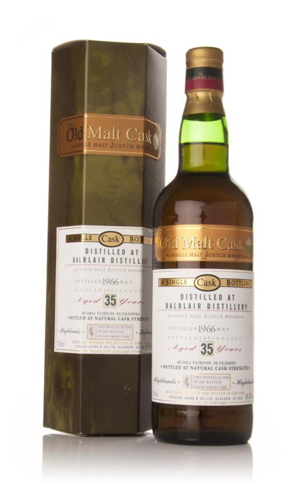 Balblair 35 Year Old 1966 - Old Malt Cask (Douglas Laing) Single Malt Whisky