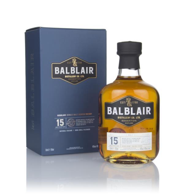 Balblair 15 Year Old Single Malt Whisky