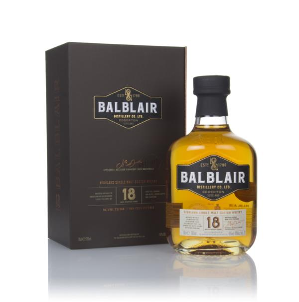 Balblair 18 Year Old Single Malt Whisky