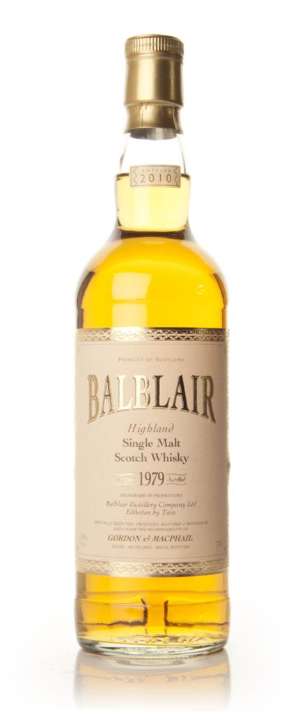 Balblair 1979 (Gordon & MacPhail) Single Malt Whisky