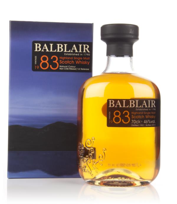 Balblair 1983 - 1st Release Single Malt Whisky