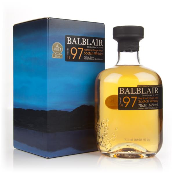 Balblair 1997 - 2nd Release Single Malt Whisky