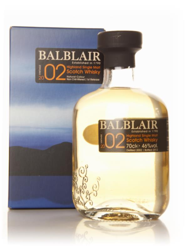 Balblair 2002 - 1st Release Single Malt Whisky
