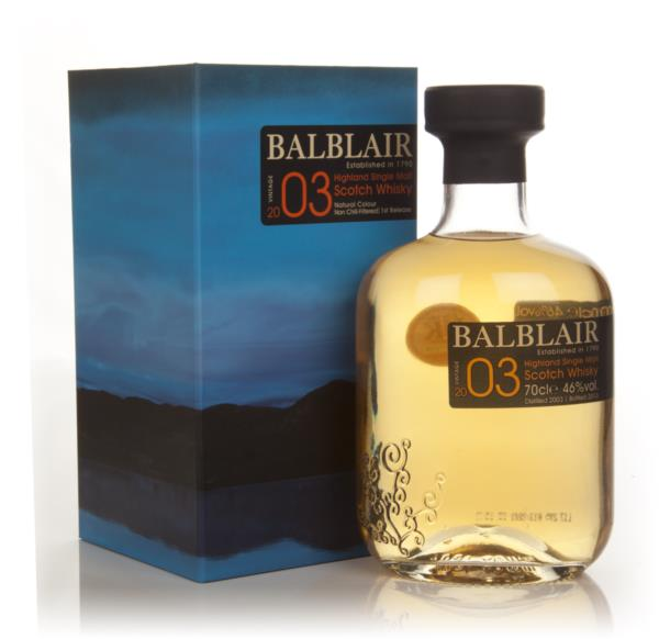 Balblair 2003 - 1st Release Single Malt Whisky