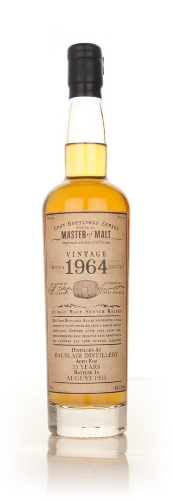 Balblair 35 Year Old 1964 - Lost Bottlings Series (Master of Malt) Single Malt Whisky