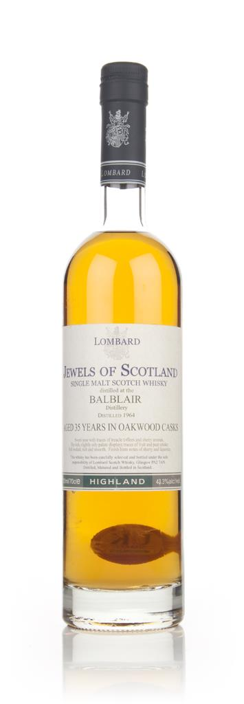 Balblair 35 Year Old - Jewels of Scotland (Lombard) Single Malt Whisky