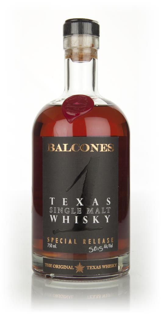 Balcones Texas Single Malt 50.5% Single Malt Whiskey