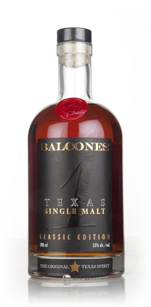 Balcones Texas Single Malt  53% Single Malt Whiskey