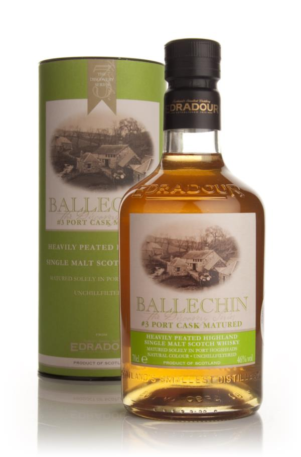 Edradour Ballechin #3 Port Cask Matured (The Discovery Series) Single Malt Whisky